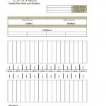 Genealogy Timeline Chart
