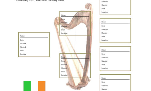 Irish Family Tree Form