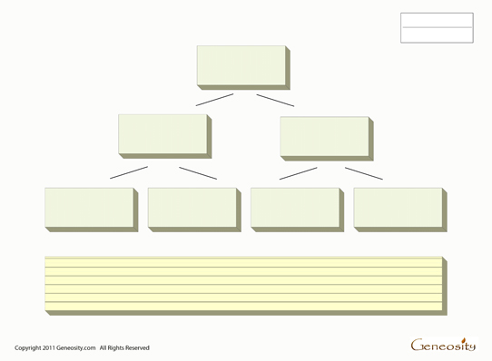 Blank Printable Family Tree Form