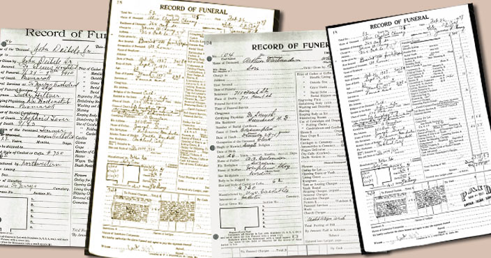 Using Funeral Home Records For Genealogy