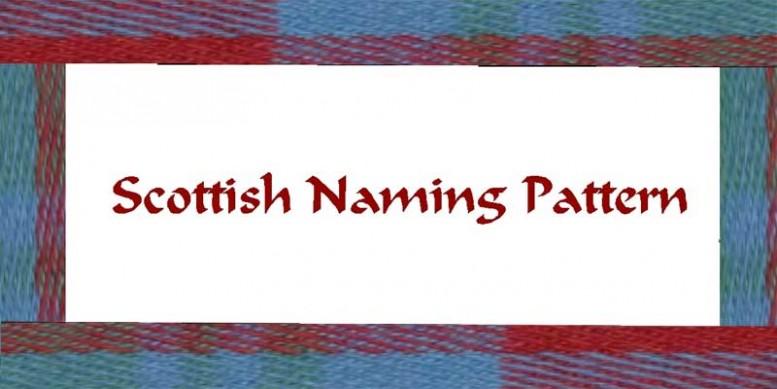 scottish naming