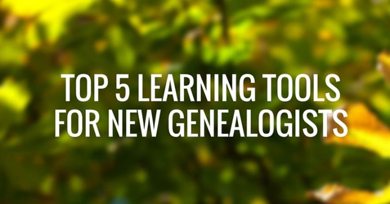 5 great learning tools for genealogists