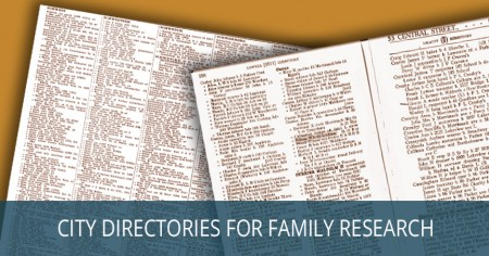 city directories family research