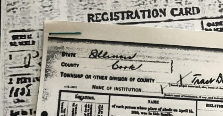 registration card