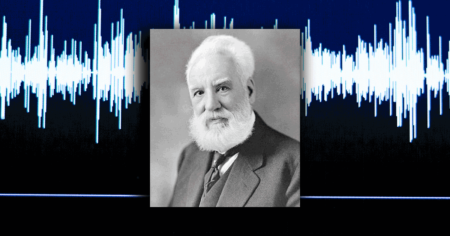 recorded voice of alexander graham bell
