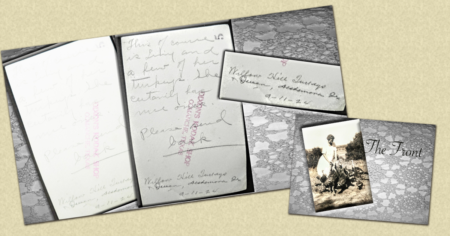 how to read family photos handwriting