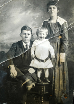 Old Family Photo - Wilson and Rita Butler