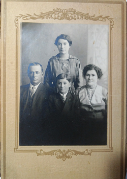 Kockerman Family St. John Texas antique photo