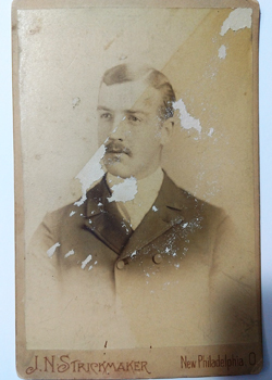 Unknown antique cabinet card