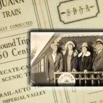 train travel in 1930