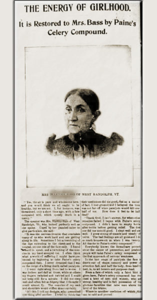 Buffalo Morning Express 1895 Article Martha Bass