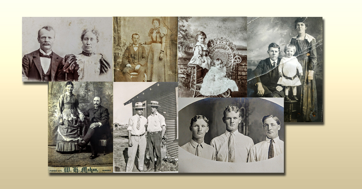 Old Family Photos and Cabinet Cards