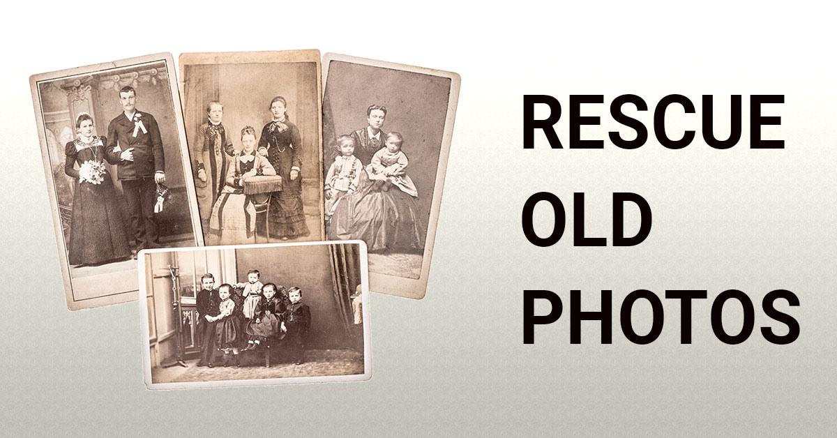 rescue old family photos