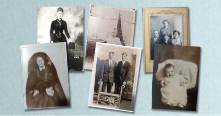 Antique Photos Portraits and Faces