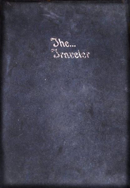 The Traveler Yearbook cover