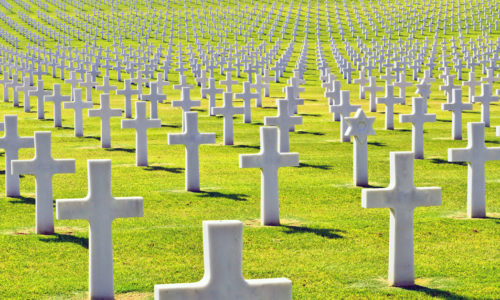tradition of bringing home the dead from American Wars