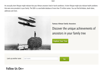 famous family ancestry.com